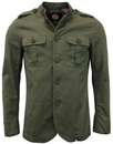 pretty green langford jacket khaki mod