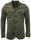 Langford PRETTY GREEN Mod Military Twill Jacket K