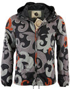 PRETTY GREEN RETRO MOD INDIE WINDBREAKER RILEY