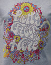PG Is Here PRETTY GREEN Psychedelic 60s Tee BLUE