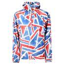 PRETTY GREEN Britpop Union Jack Overhead Jacket