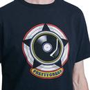 PRETTY GREEN Men's Retro Vinyl Record Logo T-Shirt