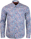 Wilby PRETTY GREEN Liberty Fabric Rainbow Shirt