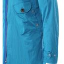 PRETTY GREEN Retro Bold Zip Through Parka Jacket