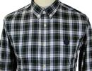 Wellford PRETTY GREEN Mod Button Down Check Shirt