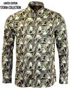 PRETTY GREEN LS Thorger Liberty Print Shirt