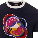 PRETTY GREEN Retro 60s Pop Art Astral Logo Tee