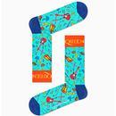 + HAPPY SOCKS X QUEEN The Works Instrument Socks