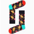 + HAPPY SOCKS X QUEEN 6 Pack Retro Socks Gift Box