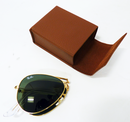 RAY-BAN FOLDING AVIATOR SUNGLASSES RETRO MOD 70s