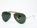 RAY-BAN OUTDOORSMAN RETRO ICON AVIATOR SUNGLASSES