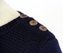REALM & EMPIRE Retro Mod Boat Neck Merino Jumper