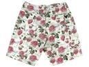 REALM & EMPIRE WW1 Wallpaper Floral Cargo Shorts