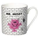Mr Men Retro Mugs Mr Messy Mug Front