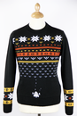 RETRO CHRISTMAS JUMPER RETRO 70S ALIENS JUMPER