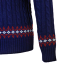 Snow Way - Retro 70s Cable Knit Christmas Jumper