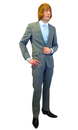 MENS RETRO MOD SUIT IN CHARCOAL MOD SILVER CHECK