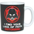 RETRO STAR WARS LACK OF FAITH MUG