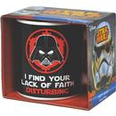 Star Wars Darth Vader Lack Of Faith Retro Mug