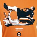 Lazy Sunday Afternoon STOMP Retro Mod T-Shirt (BO)
