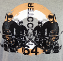 Scooter '64 STOMP Retro Mod Target Scooter T-Shirt