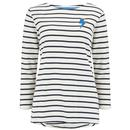Sugarhill Brighton Retro Brighton Breton Long Sleeve Top Thunderstruck