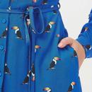 Elspeth SUGARHILL BRIGHTON 60s Toucan Shirt Dress
