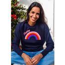 Noah SUGARHILL BRIGHTON Happy Rainbow Sweater