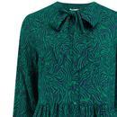 Winna SUGARHILL Retro 70s Wild Nights Smock Dress