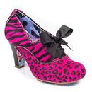 Summer Berries IRREGULAR CHOICE Leopard Booties P