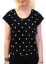 Fade SUPREMEBEING Retro 70s Indie Polkadot T-Shirt