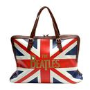 DISASTER DESIGN The Beatles Union Jack Travel Bag