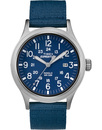 Timex expedition scout blue