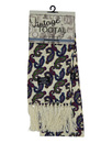 tootal floral paisley scarf plum