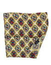 TOOTAL 1960s Mod Diamond Tile Silk Pocket Square
