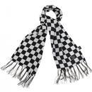 TOOTAL Retro 60s Mod Ska Checkerboard Silk Scarf