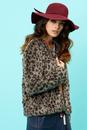 Betty Jones TRAFFIC PEOPLE Retro 70s Faux Fur Coat