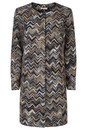 Traffic People Retro 60s Woven Drays Coat