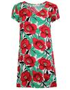 traffic people molly retro 1950s floral dress