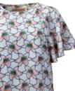 Wingding TRAFFIC PEOPLE Mod Retro Flower Top