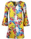 Candour TRAFFIC PEOPLE Flared Sleeve 60s Dress