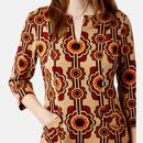 TRAFFIC PEOPLE Corrie Bratter 60s Tunic Dress