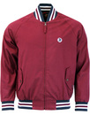 TROJAN RECORDS Retro 70s Mod Monkey Jacket -Maroon