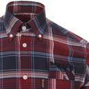 TROJAN RECORDS Mod Ska Madras Check Shirt PORT
