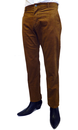 TukTuk Mens Retro Sixties Mod Toffee Cord Trousers