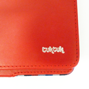 TukTuk Retro Indie iPad 2/3 Leather Cover in Red