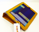 TUKTUK RETRO MOD IPAD CASE YELLOW LEATHER 60s 70s