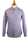 Whitfield UCLA Retro Mod Pinstripe Oxford Shirt