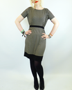 Tips VILA JOY Retro 70s Mod Geometric Dress