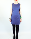 Doni-Fia VILA JOY Retro 60s Mod Shift Dress (C)